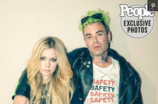 Avril Lavigne tuvo inmediata conexión con su novio Mod Sun