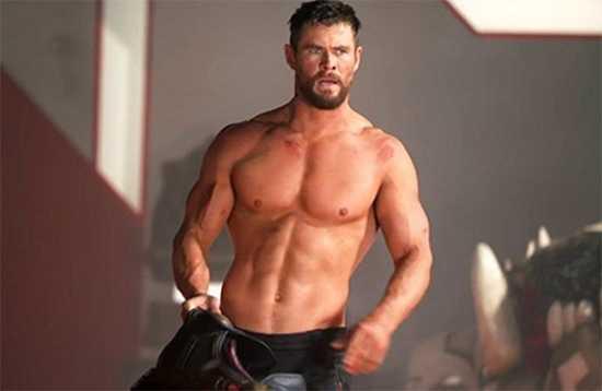 Chris Hemsworth dice que su musculatura impide que le tomen en serio como actor