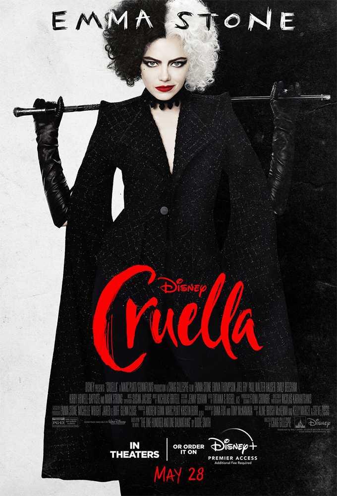 New Trailer of Cruella with Emma Stone