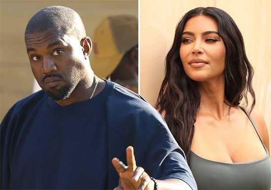 Kanye West molesto porque fans creen que Kim Kardashian inició el divorcio