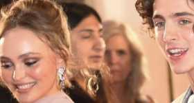 Timothee Chalamet y Lily-Rose Depp de shopping