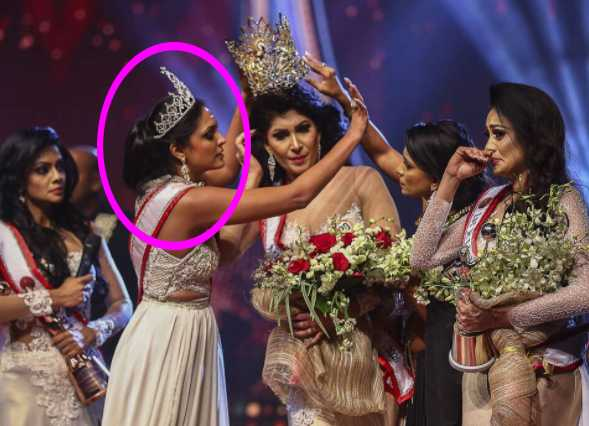 Arrestaron a Mrs World por arrancarle la corona a Mrs Sri Lanka