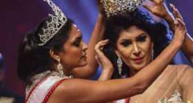 Arrestaron a Mrs World por arrancarle la corona a Mrs Sri Lanka