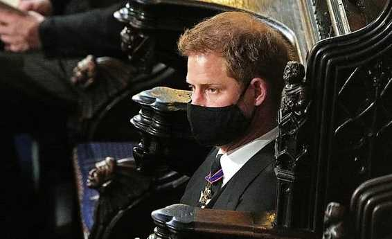 prince harry prince philip funeral