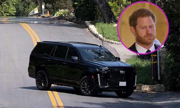 Principe Harry regresó a Los Ángeles