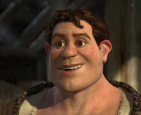 Shrek humano