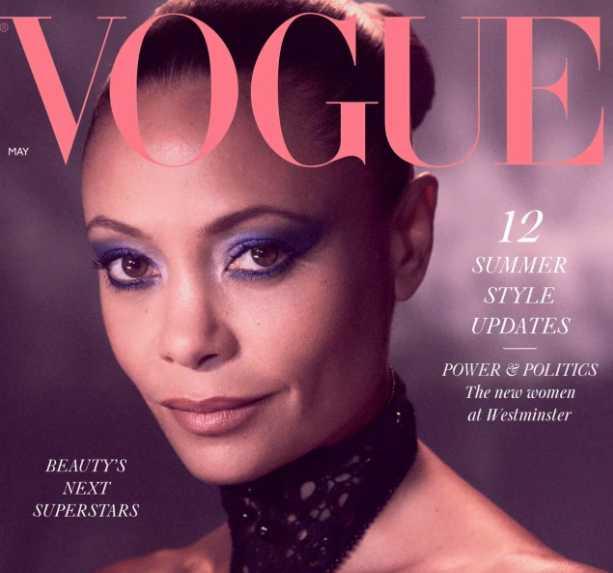 Thandie Newton revela su verdadero nombre en Vogue