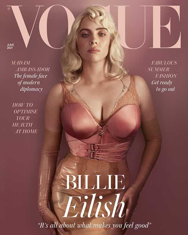 Vogue UK con Billie Eilish