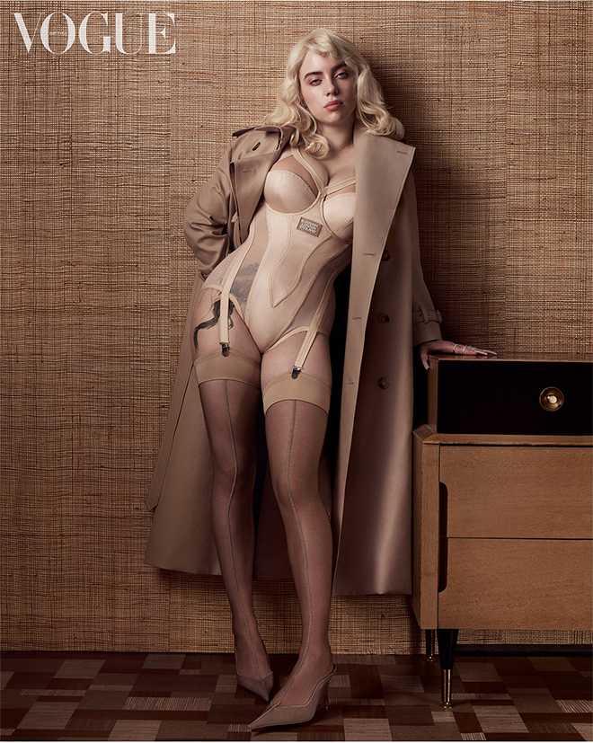 El nuevo Look de Billie Eilish en Vogue UK | Farandulista