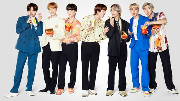 Las Army de BTS venden envoltorios del combo BTS de McDonalds