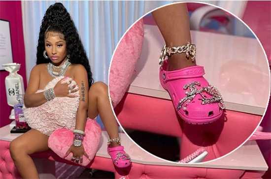 Nicki Minaj hace colapsar website de Crocs
