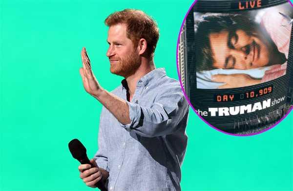 Principe Harry compara su vida con The Truman Show