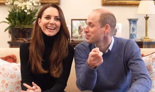 Principe William y Kate Middleton abren canal de Youtube