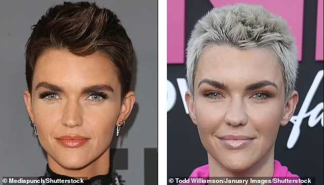 ruby rose antes despues before after