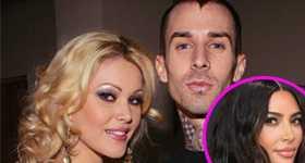 Shanna Moakler terminó con Travis Barker por Kim Kardashian