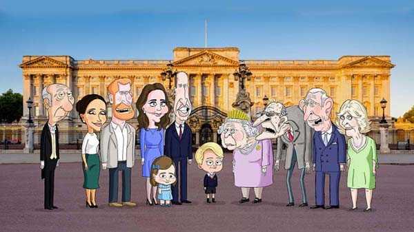 The Prince la serie sátira de la realeza británica