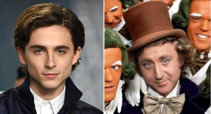 Timothee Chalamet será Willy Wonka!!