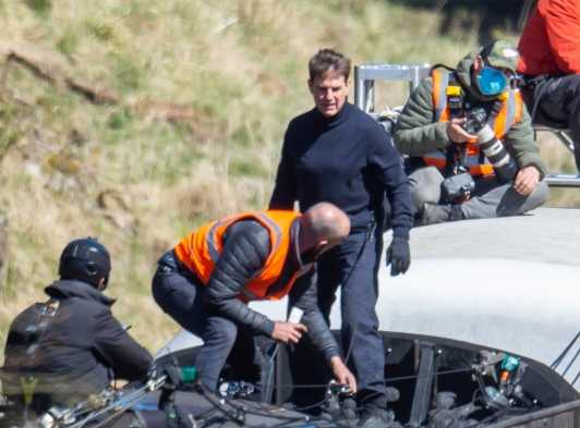 tom cruise mission impossible7 set