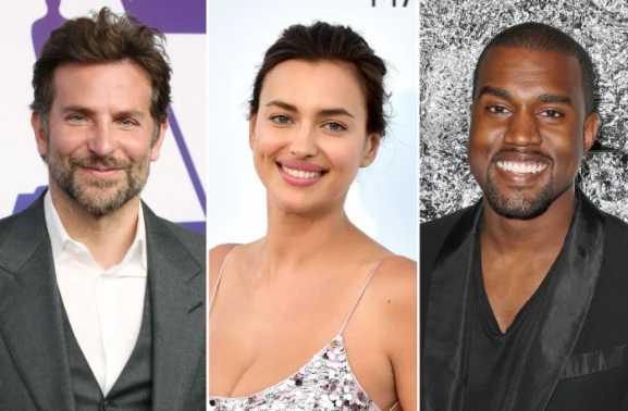 Bradley Cooper apoya a Irina Shayk saliendo con Kanye West