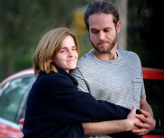 Emma Watson muy enamorada de Leo Robinton