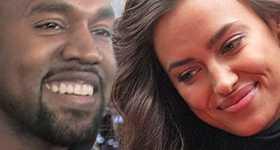 Kanye West anda con Irina Shayk en Francia