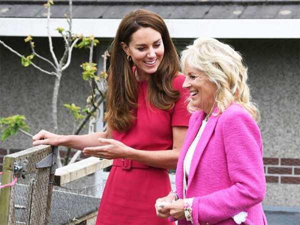 Kate Middleton y la Primera Dama de USA, Dra. Jill Biden