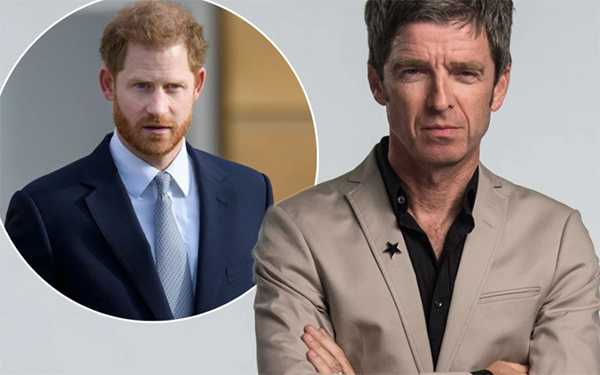 Noel Gallagher lashes out at Harry and Meghan