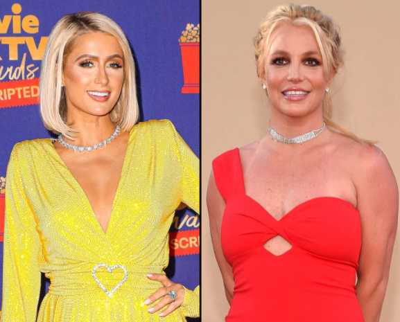 Paris Hilton says she loves Britney and dedicates a song to her