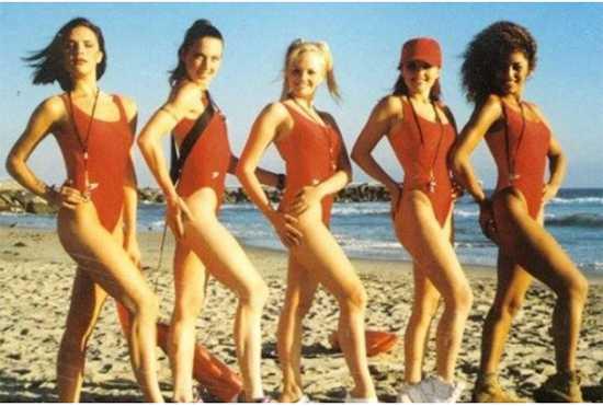 spice girls baywatch