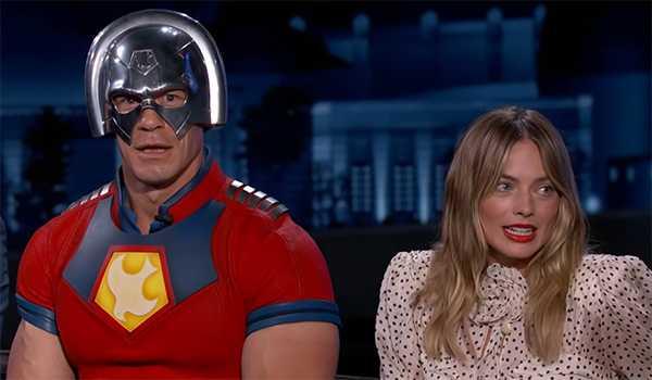 Margot Robbie a dormi avec une découpe en carton grandeur nature de John Cena