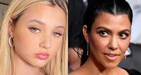 Alabama Barker llama madrastra a Kourtney Kardashian