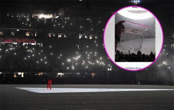 Fan de Kanye West vende bolsa de aire del estreno de su disco Donda