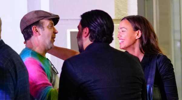 Irina Shayk et Jason Sudeikis ensemble et heureux