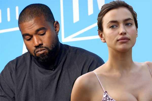 Relación de Kanye West con Irina Shayk se enfría porque no existe