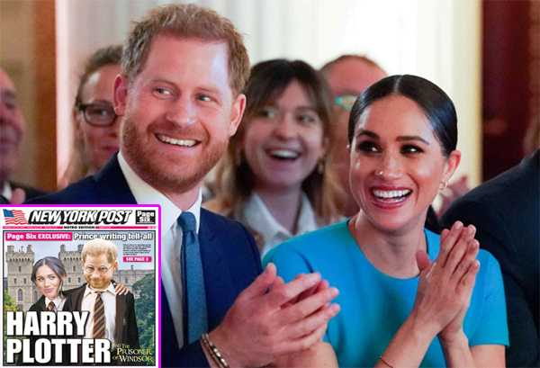 Príncipe Harry obtuvo $20 millones por su autobiografía