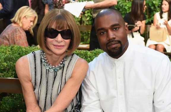 Kanye West le pagó a Anna Wintour para entrar al mundo de la moda
