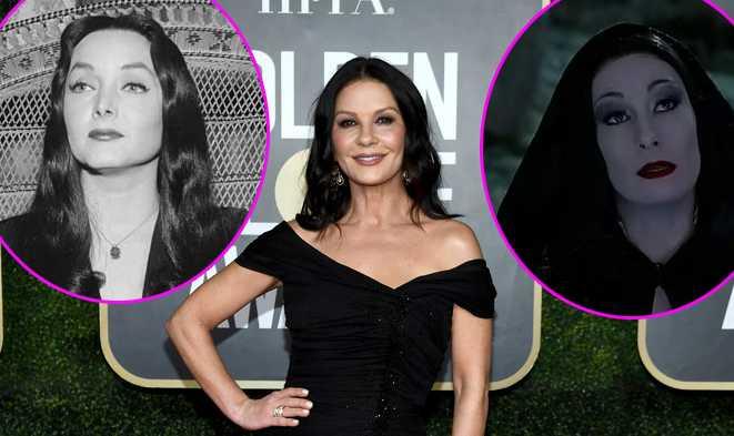 Catherine Zeta-Jones será Morticia en la nueva serie de los Addams en Netflix