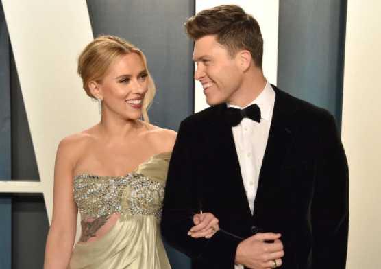 Colin Jost confirmó baby con Scarlett Johansson