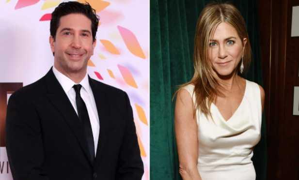 Jennifer Aniston y David Schwimmer saliendo? Nope!