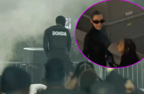 Fans creen que Kim Kardashian y Kanye volvieron