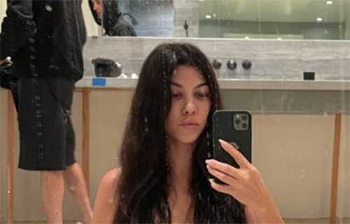 Kourtney Kardashian revela el corte de cabello que le hizo Travis
