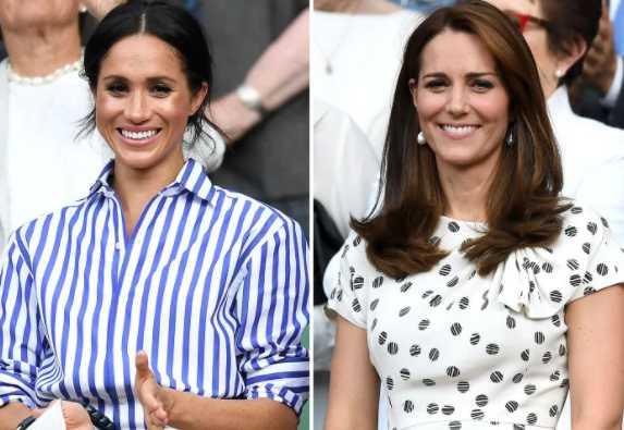 Meghan Markle y Kate Middleton más cerca que nunca