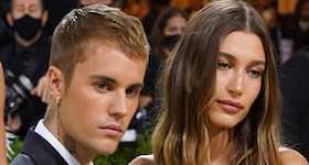 Hailey Bieber no está embarazada pese a esta pose en el Met Gala