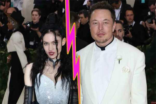 Elon Musk y Grimes terminaron