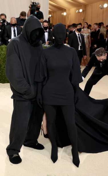Kanye Kim Met Gala 2021