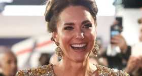Kate Middleton BRILLA en la premier de No Time To Die