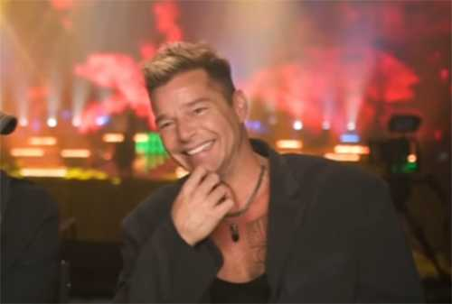 OMG! El nuevo look de Ricky Martin. Why Ricky? WHY?