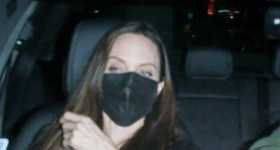 Angelina Jolie pasando tiempo con su ex esposo Jonny Lee Miller