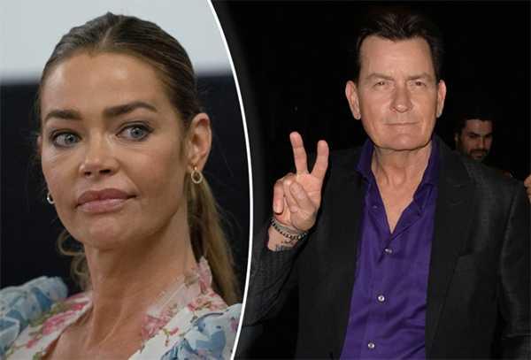Charlie Sheen ya no tiene que pagar manutención infantil a Denise Richards