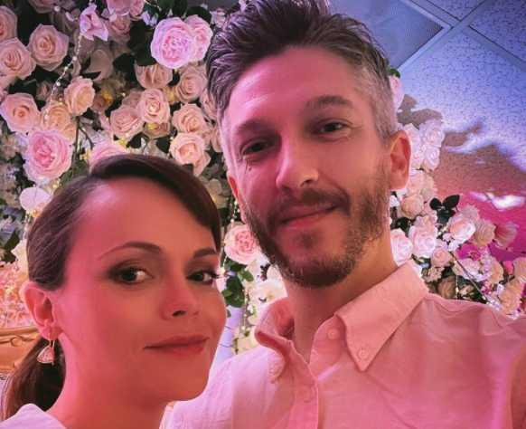 Christina Ricci se casó con Mark Hampton